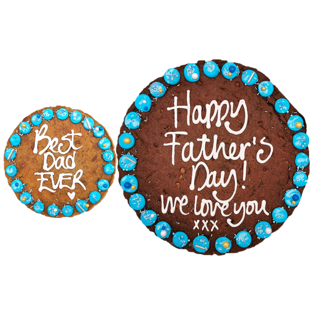 Fathers Day Personalised Giant Chocolate Chip Cookie Gallery Image