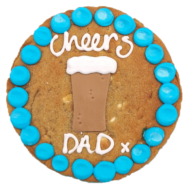 Cheers Dad Giant Chocolate Chip Cookie Gallery Image