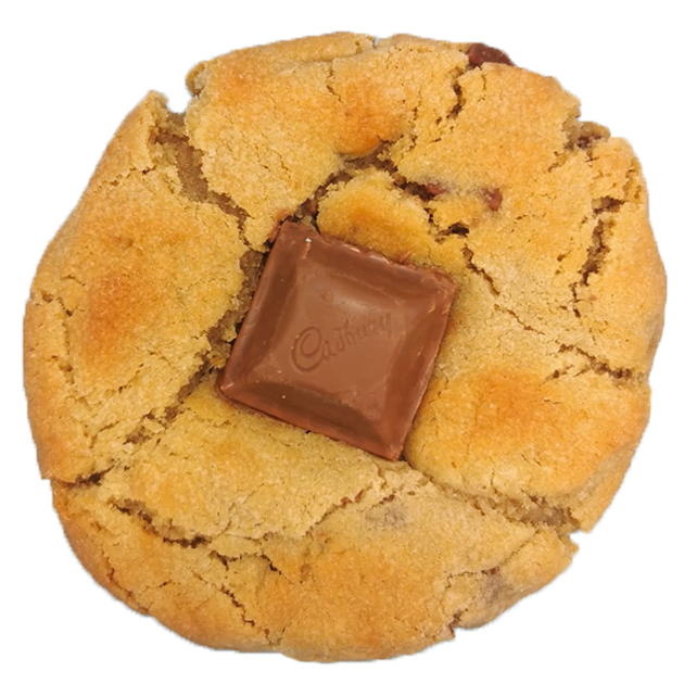 Choc Chunk Cadbury Caramel Stuffed Cookies (Box of 6) Featured Image