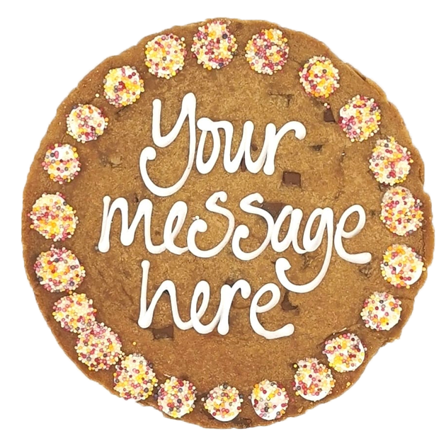 Personalised Giant Chocolate Chip Cookie Featured Image