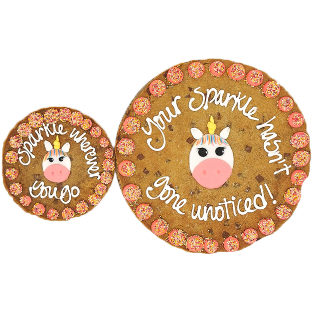 Unicorn Giant Chocolate Chip Cookie Gallery Image