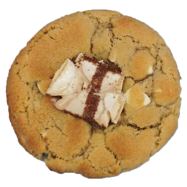 White Chocolate Bueno Stuffed Cookies (Box of 6) Featured Image